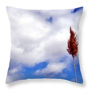 Tall Trunks Throw Pillow