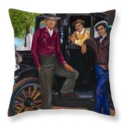 Tallboy Throw Pillow