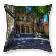 Tallin - Estonia Throw Pillow