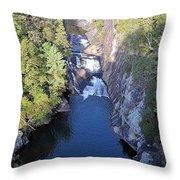 Tallulah Gorge Throw Pillow