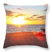Tamarack At Sunset Throw Pillow