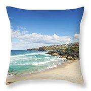 Tamarama Beach Beach In Sydney Australia Throw Pillow