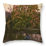 Tammy's Pond Throw Pillow