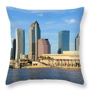 Tampa Bay Classic View Throw Pillow