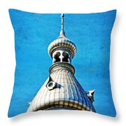 Tampa Beauty - University Of Tampa Photography By Sharon Cummings Throw Pillow