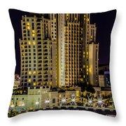 Embassy Suites Tampa Florida Throw Pillow