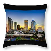 Tampa skyline photograph by marvin spates Home decor tampa