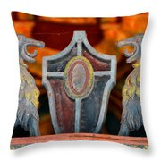 Tampa Theatre Crest Throw Pillow