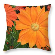 Tangerine Punch Throw Pillow