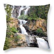 Tangle Falls Tumble Throw Pillow