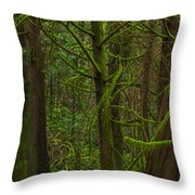 Tangled Forest Throw Pillow