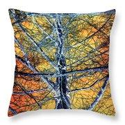 Tangled Web 2 Throw Pillow