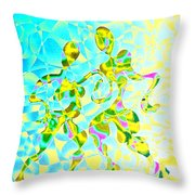 Tango Crecendo Throw Pillow