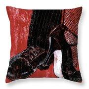 Tango Throw Pillow by Debbie DeWitt