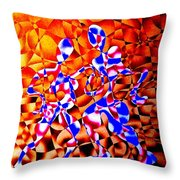 Tango Rhythms Throw Pillow