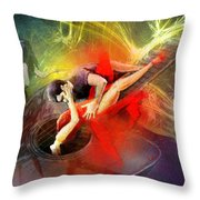 Tangoscape 06 Throw Pillow