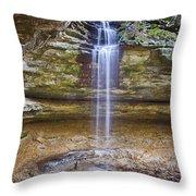 Tannery Falls Throw Pillow