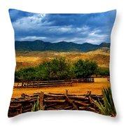 Tanque Verde Ranch Tucson Az Throw Pillow