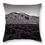 Taos In The Zone Throw Pillow