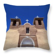 Taos Mission Throw Pillow