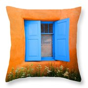 Taos Window IIi Throw Pillow