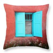 Taos Window Iv Throw Pillow