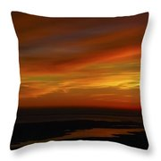 Rappahannock Sunrise II Throw Pillow
