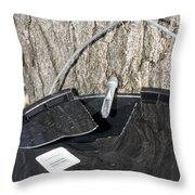Tapped Throw Pillow