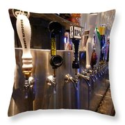 Tapped Out Throw Pillow