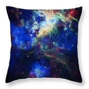 Tarantula Nebula 5 Throw Pillow