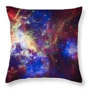 Tarantula Nebula 6  Throw Pillow by Jennifer Rondinelli Reilly - Fine Art Photography