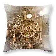 Tarantula Train Throw Pillow