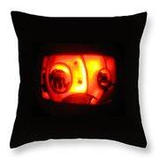 Tarboy Pumpkin Throw Pillow