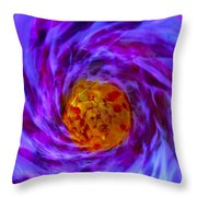 Tardus Timelord Tunnel Throw Pillow