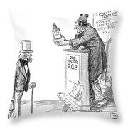 Tariff Bill, 1921 Throw Pillow