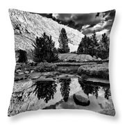 Tarn Reflection Throw Pillow