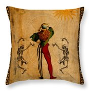 Tarot Card The Fool Throw Pillow