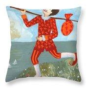 Tarot The Fool Throw Pillow