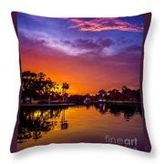 Tarpon Springs Glow Throw Pillow