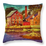 Tarr And Wonson Fading Throw Pillow