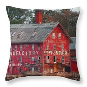 Tarr And Wonson Paint Manufactory Throw Pillow