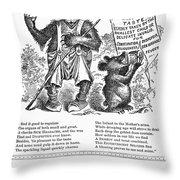 Tarrants Seltzer Aperient Throw Pillow by Granger