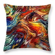 Tasmania By Rafi Talby Throw Pillow