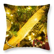 Tassels Under The Tree Throw Pillow