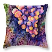 Taste Of The Sun Throw Pillow by Zaira Dzhaubaeva