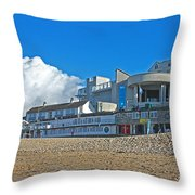 Tate Gallery St Ives Cornwall Throw Pillow