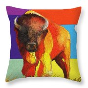 Tatonka Throw Pillow