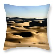 Tatooine Throw Pillow by A Rey