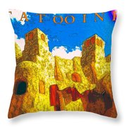 Tatooine One Throw Pillow