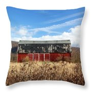 Tattered Shingles Throw Pillow